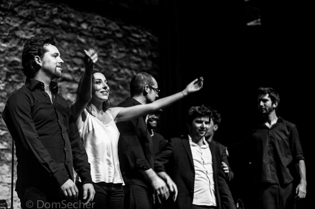 Concert Ionela au café de la danse le 07 novembre 2013. Photos Dom Secher